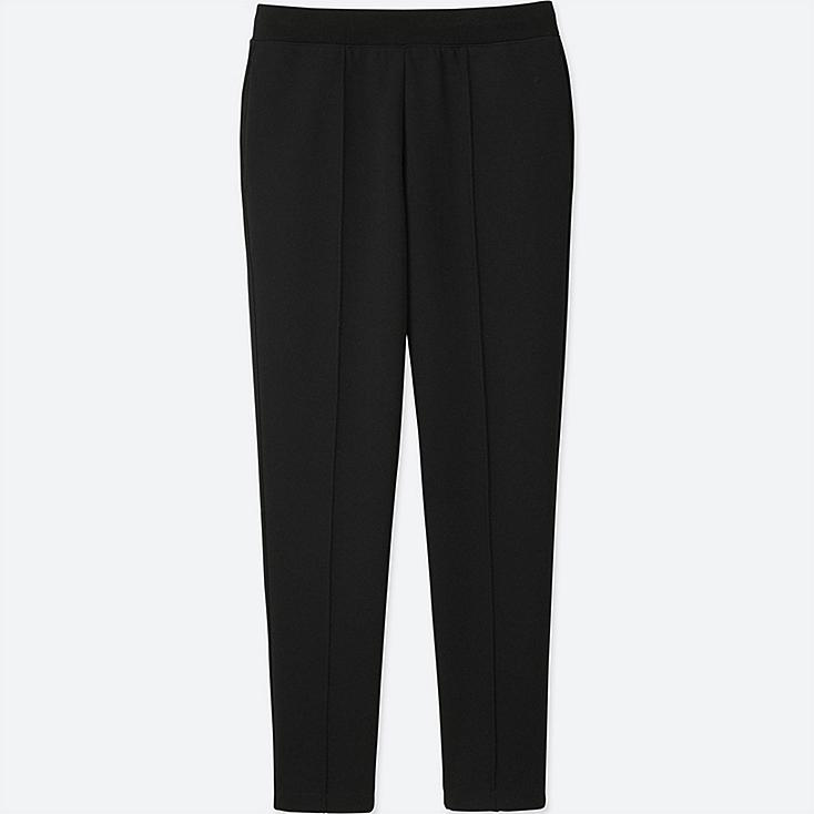 WOMEN DRY SWEATPANTS, BLACK, large