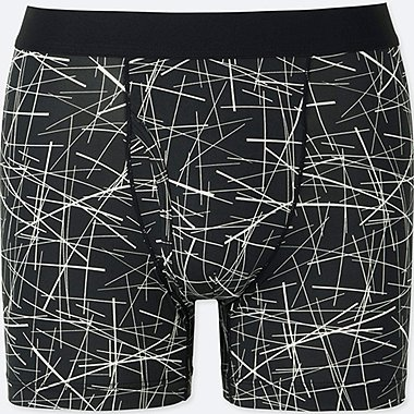 MEN AIRism SPRZ NY BOXER BRIEFS (NIKO LUOMA), BLACK, medium