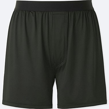 MEN AIRism BOXERS, BLACK, medium