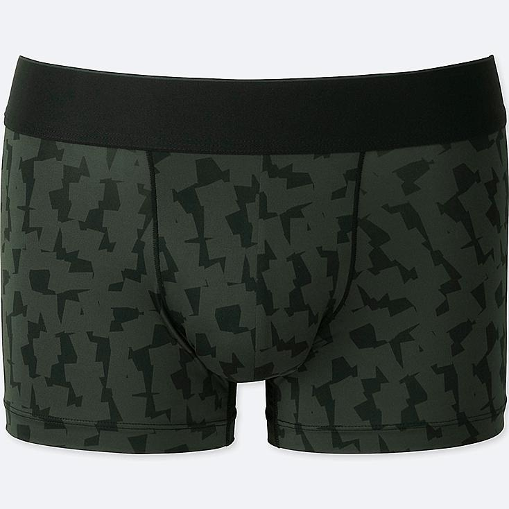 MEN AIRism SPRZ NY LOW-RISE BOXER BRIEFS (FRANCOIS MORELLET), BLACK, large
