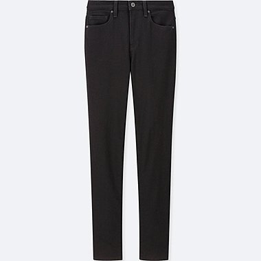 WOMEN EZY JEANS, BLACK, medium