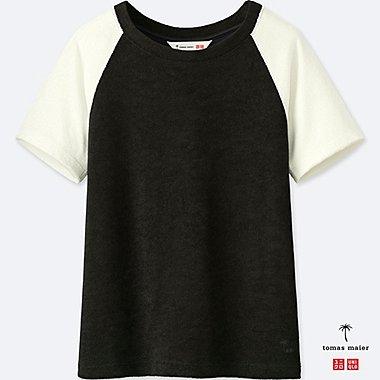 Tomas Maier AIRism camiseta manga corta casa MUJER