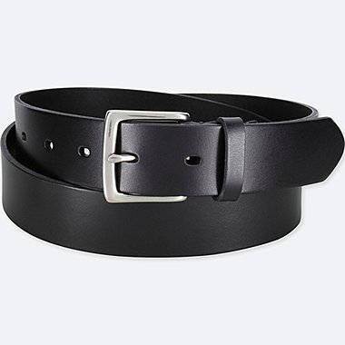 MEN MATTE LEATHER BELT