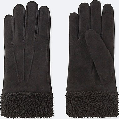 WOMEN FAUX MOUTON GLOVES