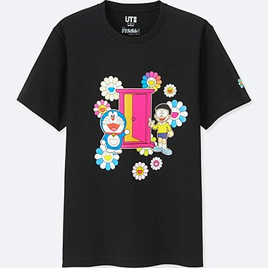 DORAEMON X TAKASHI MURAKAMI SHORT SLEEVE GRAPHIC T-SHIRT