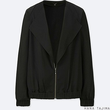 WOMEN HPJ LAYERED BLOUSON