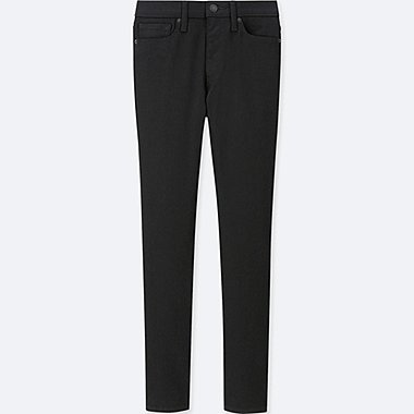 WOMEN CIGARETTE HIGH RISE SKINNY FIT JEANS (L28)
