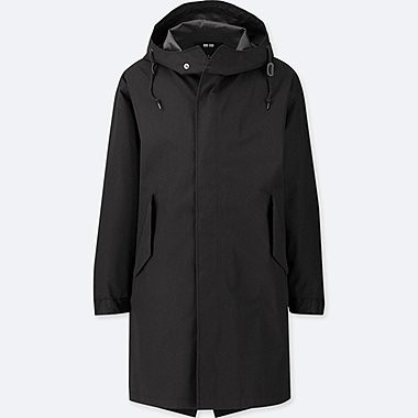 MEN BLOCKTECH FISHTAIL PARKA, BLACK, medium