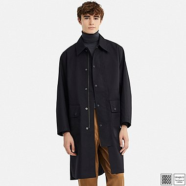 MEN UNIQLO U BLOCKTECH COAT