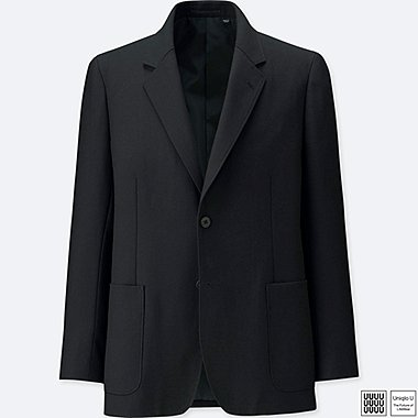 MEN UNIQLO U WOOL BLEND BLAZER JACKET(SET UP)