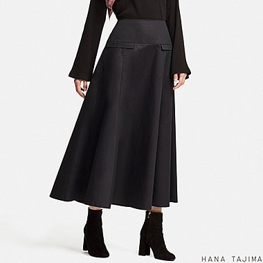 WOMEN HPJ FLARED LONG SKIRT