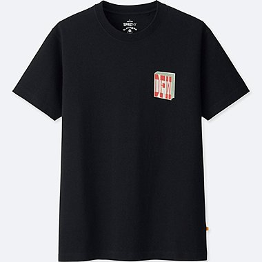 SPRZ NY BARRY MCGEE GRAPHIC T-SHIRT, BLACK, medium