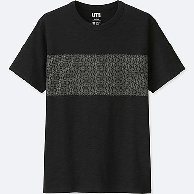 MEN KATAGAMI SHORT SLEEVE GRAPHIC T-SHIRT