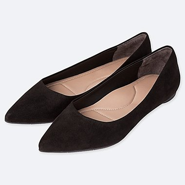 WOMEN POINTED FLAT COURT SHOES