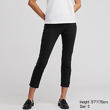 PANTALON LEGGING CROPPED ULTRA STRETCH FEMME