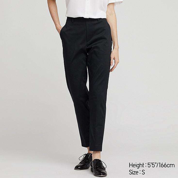 Women Ezy Satin Ankle Length Pants by Uniqlo