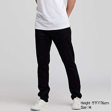 MEN EZY SKINNY FIT COLOR JEANS, BLACK, medium