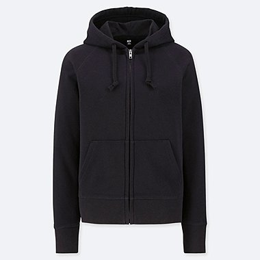 WOMEN Sweat Long Sleeve Full-Zip Hoodie