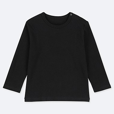 BABIES TODDLER CREW NECK LONG SLEEVE T-SHIRT