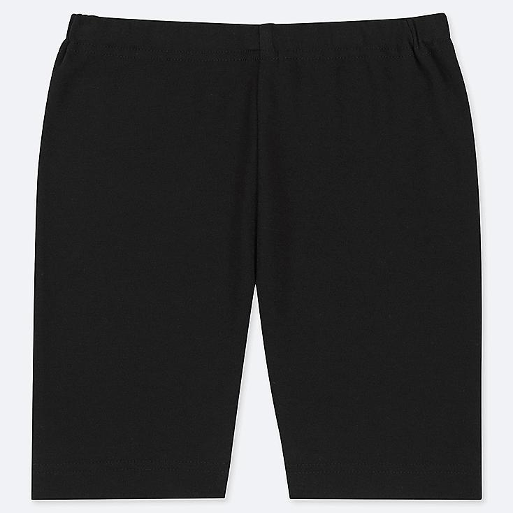 TODDLER DRY HALF LEGGINGS, BLACK, large