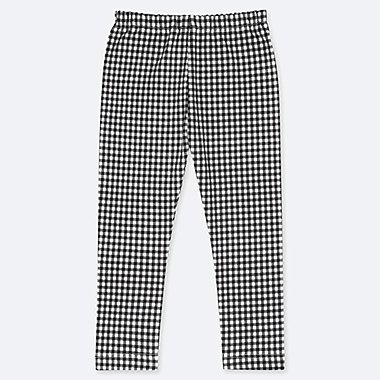 BABIES TODDLER CHECKED LEGGINGS