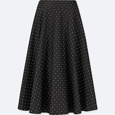 WOMEN POLKA DOT CIRCLE SKIRT