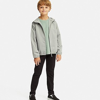 BOYS ULTRA STRETCH RELAXED PANTS, BLACK, medium