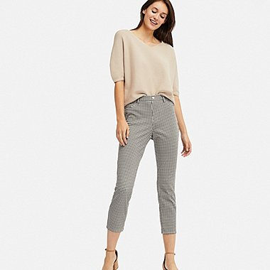 PANTALON LEGGING COURT ULTRA STRETCH IMPRIMÉ FEMME