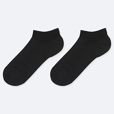 KIDS SHORT SOCKS (SET OF 2), BLACK, medium