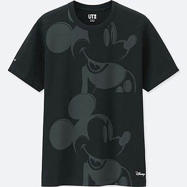 MICKEY ART SHORT-SLEEVE GRAPHIC T-SHIRT (ANDY WARHOL), BLACK, medium
