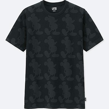 MICKEY MOUSE ART BY ANDY WARHOL UT (SHORT-SLEEVE GRAPHIC T-SHIRT), BLACK, medium
