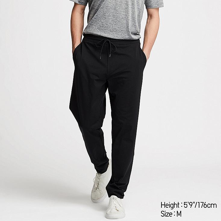 MEN ULTRA STRETCH ACTIVE PANTS (ONLINE EXCLUSIVE), BLACK, large