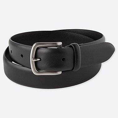 MEN ITALIAN LEATHER NO STITCH BELT