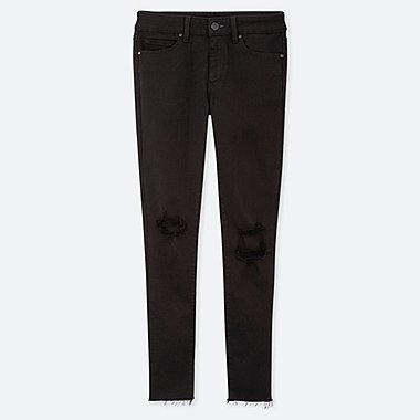 WOMEN ULTRA STRETCH MID RISE SKINNY FIT JEANS (L28)