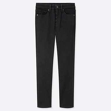 JEAN TAILLE HAUTE COUPE SKINNY 7/8ÈME FEMME