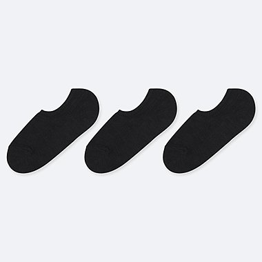 WOMEN SLUB NO-SHOW LOW CUT SOCKS (THREE PAIRS)