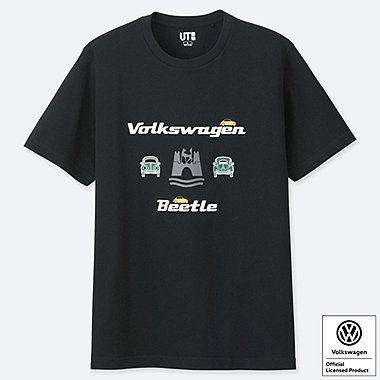 THE BRANDS VOLKSWAGEN SHORT-SLEEVE GRAPHIC T-SHIRT, BLACK, medium