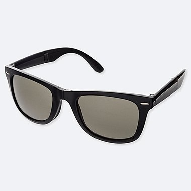 WELLINGTON FOLDING SUNGLASSES, BLACK, medium