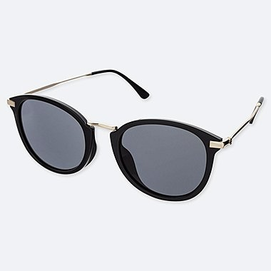 METAL COMBINATION SUNGLASSES, BLACK, medium