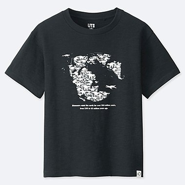 BOYS DISCOVERY CHANNEL GRAPHIC PRINT T-SHIRT
