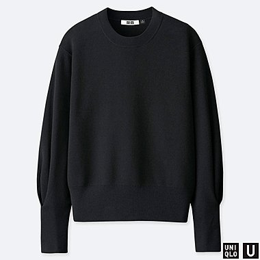 WOMEN UNIQLO U MILANO RELAXED CREW NECK JUMPER