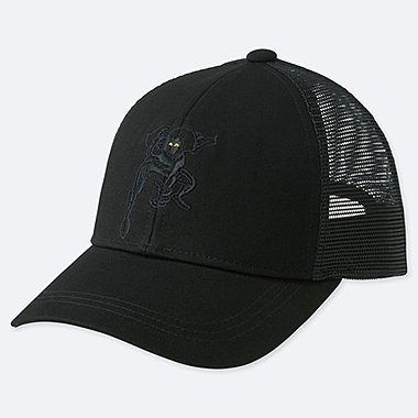 KIDS MARVEL X JASON POLAN MESH CAP, BLACK, medium