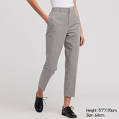 WOMEN EASY CARE STRETCH CROPPED PANTS (ONLINE EXCLUSIVE), BLACK, medium