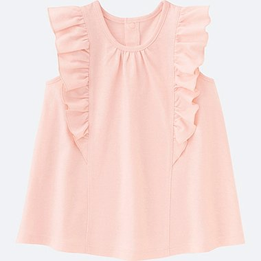 BABIES TODDLER Frill Sleeveless T-Shirt