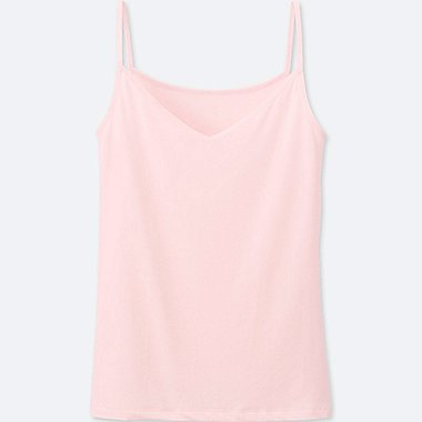 WOMEN AIRism CAMISOLE, PINK, medium