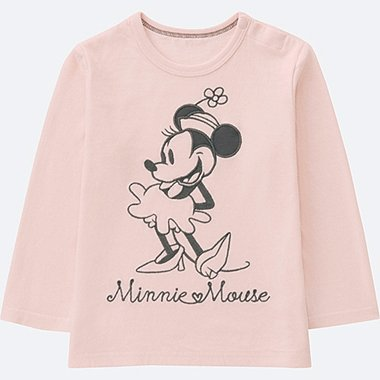 TODDLER DISNEY COLLECTION LONG-SLEEVE CREWNECK T, PINK, medium