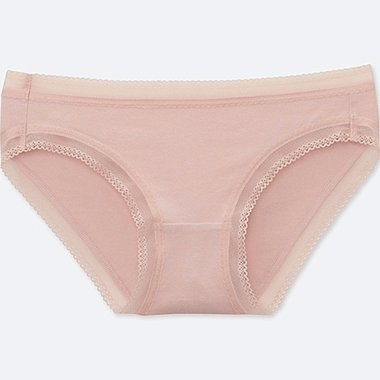 WOMEN BIKINI, PINK, medium