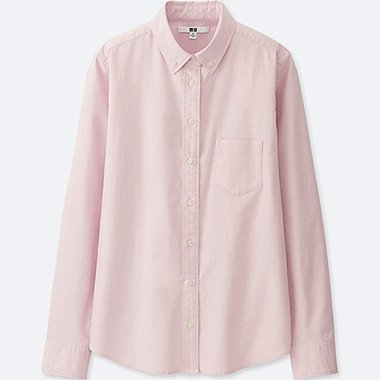WOMEN OXFORD LONG SLEEVE SHIRT
