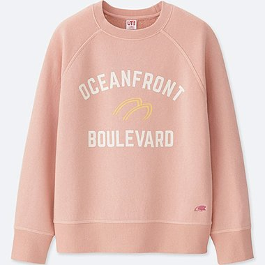 KIDS CALIFORNIA MEMORIES SWEATSHIRT, PINK, medium