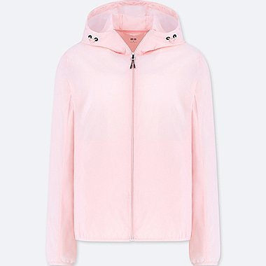 WOMEN POCKETABLE PARKA, PINK, medium